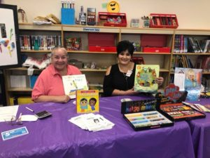 Altrusa and FNB New Mexico at School Book Fair in Tucumcari